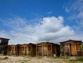 4-х местный деревянный домик
